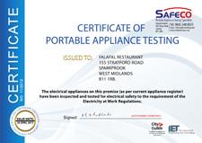 4   Display Certificate